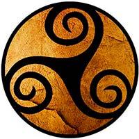 mandala Celta: tres anillos de la existencia