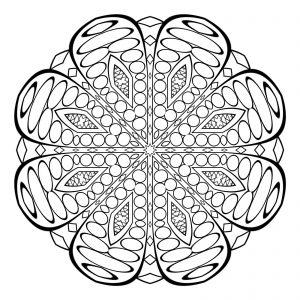 mandala dificil budista