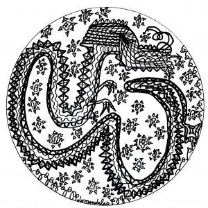 mandala dragón