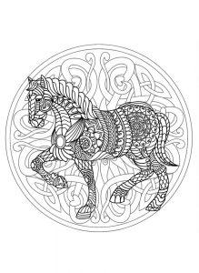 mandala caballo