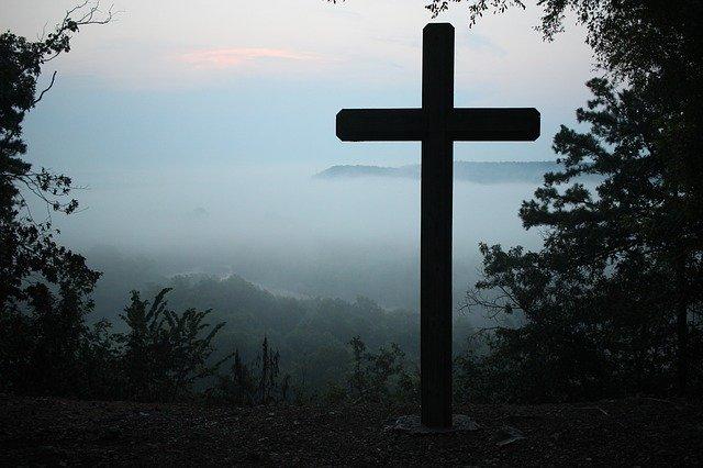 forma de cruz