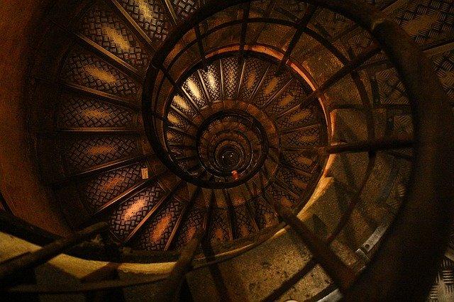 forma de espiral