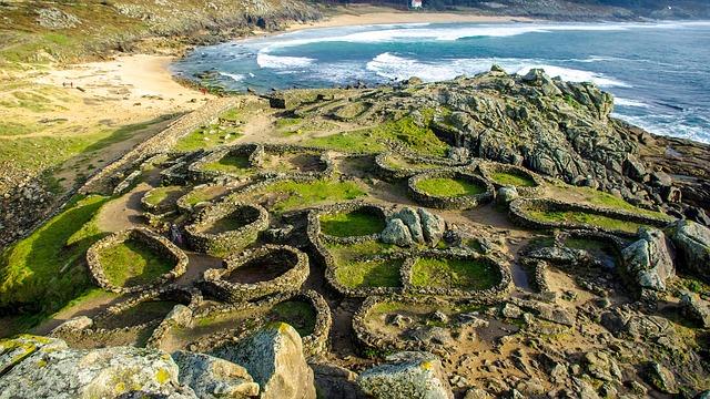 restos de poblado celta en la costa