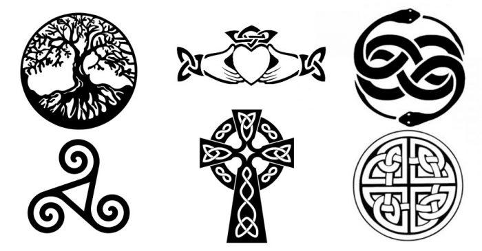 simbolos de mandalas celtas
