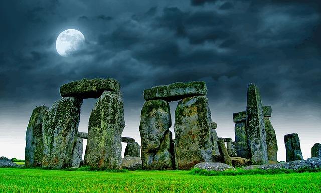 Stonehenge construccion megalitica