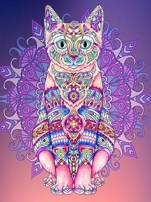Mandalas-de-gatos-coloreados