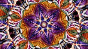 mandala con ilusión óptica