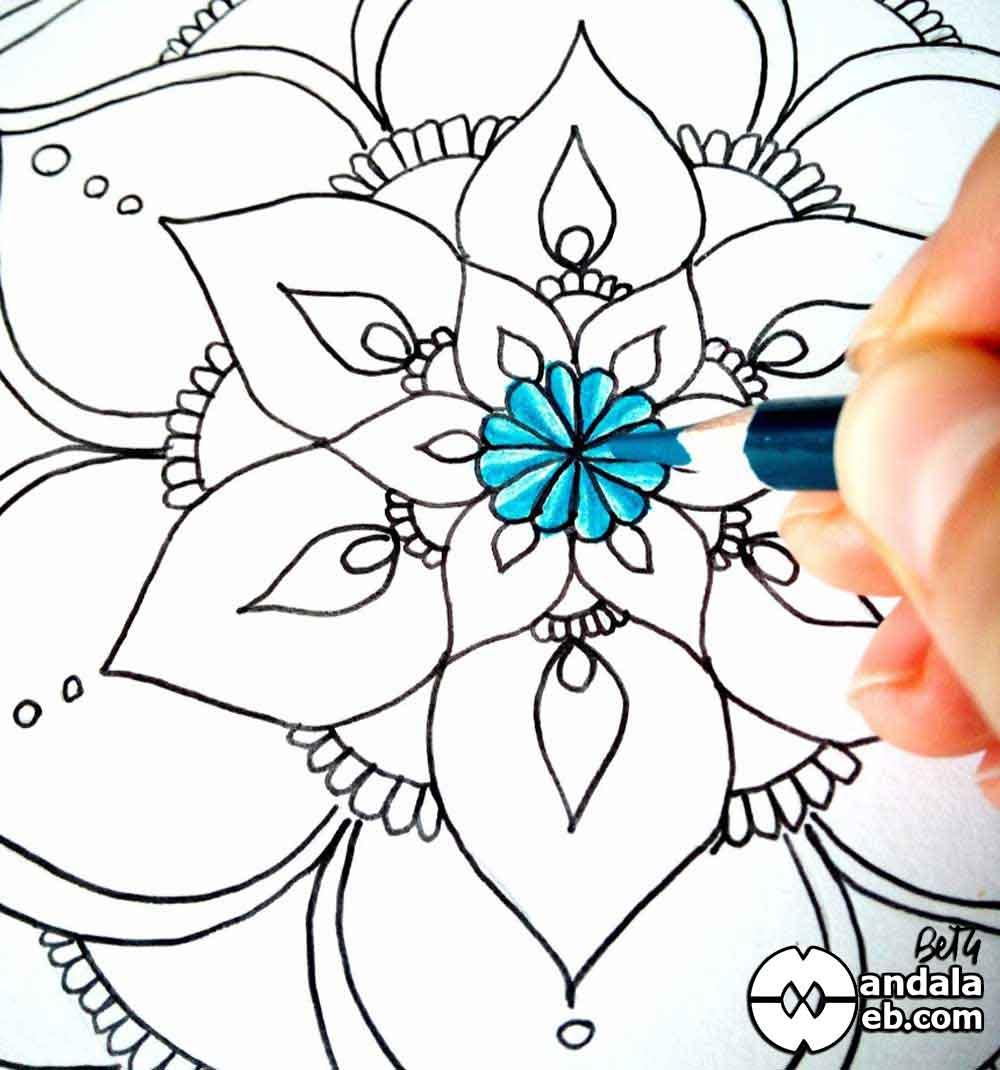 Como pintar mandala