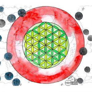 mandala flor de la vida original mandalaweb