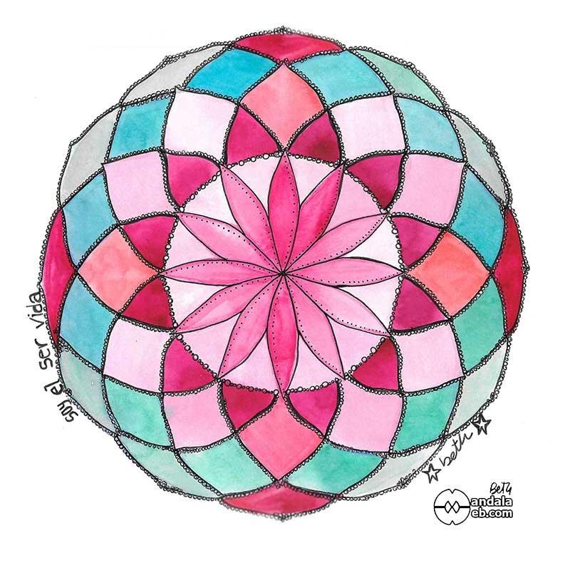 mandalas originales pintados geometría sagrada mandalaweb