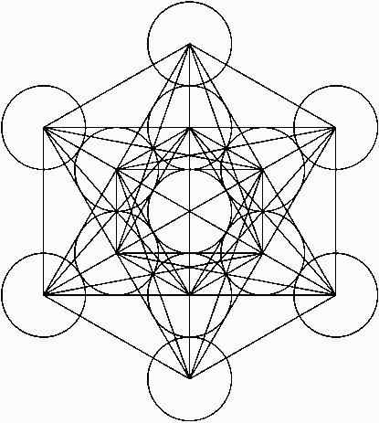 cubo de metatrón geometría sagrada