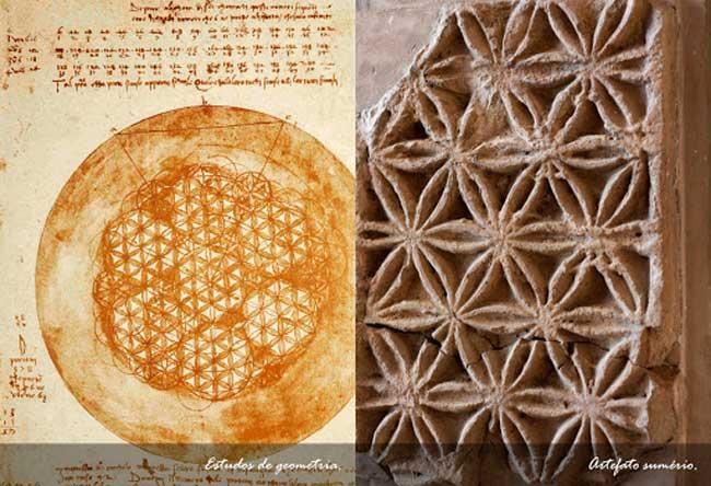 Flor de la vida en antiguas civilizaciones