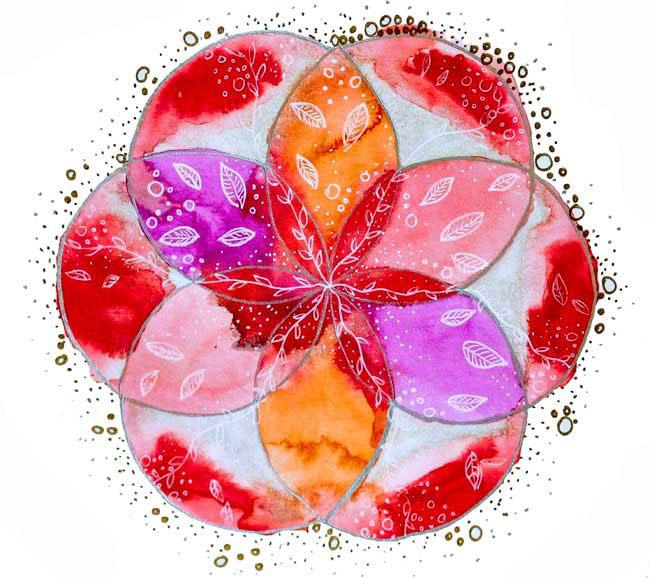 flor de la vida mandala