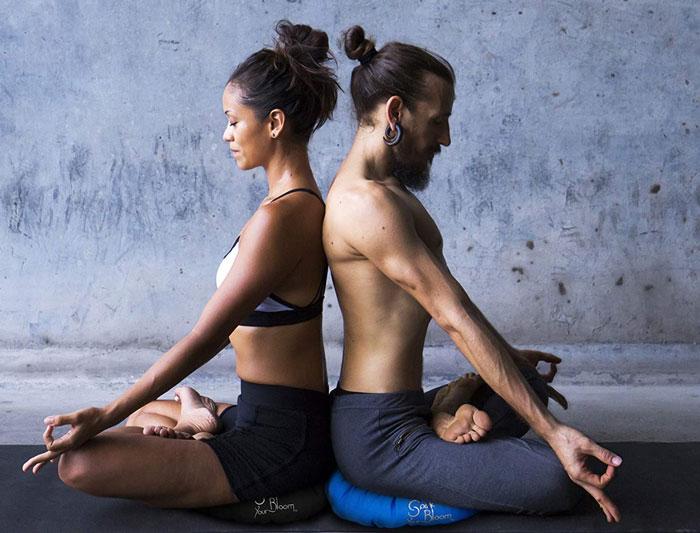 Cojines para la perfecta practica de yoga