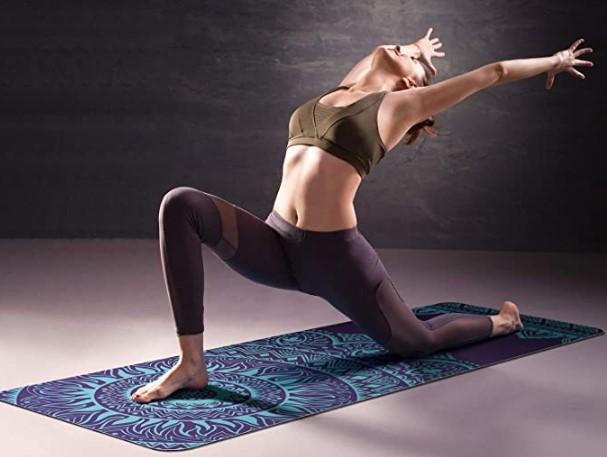 Esterillas de yoga con mandalas antideslizante