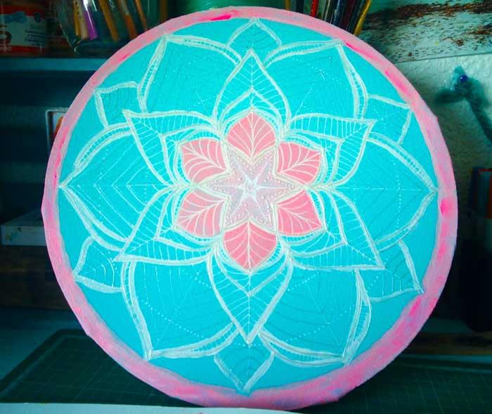Mandala Flor de loto Para meditación