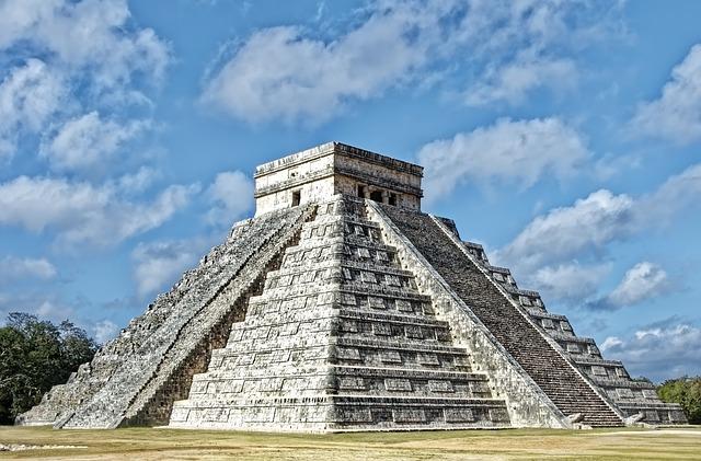 Pirámide México. Geometría Sagrada